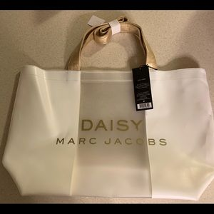 Marc Jacobs Daisy clear tote NWT